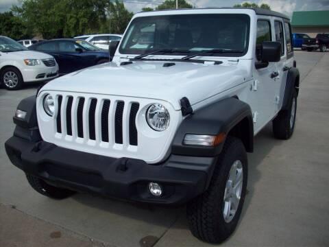 2021 Jeep Wrangler Unlimited for sale at Nemaha Valley Motors in Seneca KS