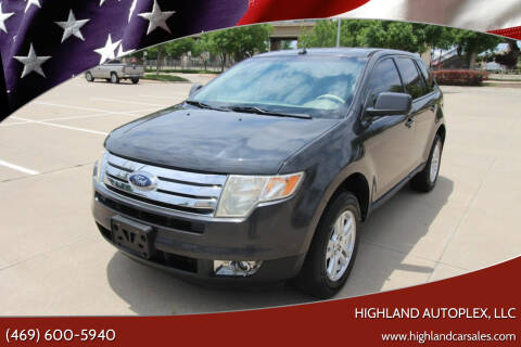 2007 Ford Edge for sale at Highland Autoplex, LLC in Dallas TX