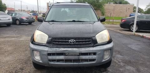 2001 Toyota RAV4 for sale at Anthony's Auto Sales of Texas, LLC in La Porte TX