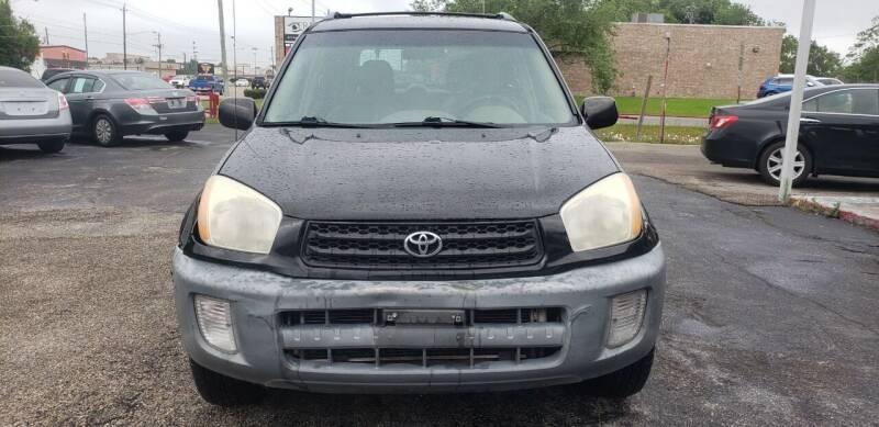 2001 Toyota RAV4 for sale at Anthony's Auto Sales of Texas, LLC in La Porte TX