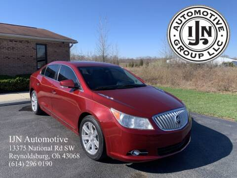 2011 Buick LaCrosse for sale at IJN Automotive Group LLC in Reynoldsburg OH