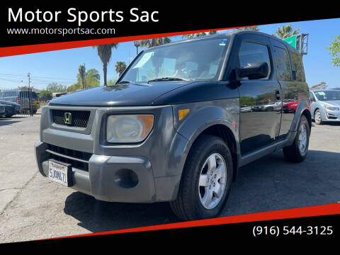 2004 Honda Element for sale at Motor Sports Sac in Sacramento CA
