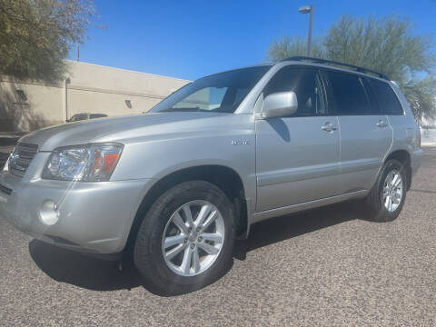 2006 Toyota Highlander Hybrid for sale at Tucson Auto Sales in Tucson AZ