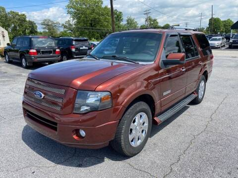 2008 Ford Expedition for sale at Brewster Used Cars in Anderson SC