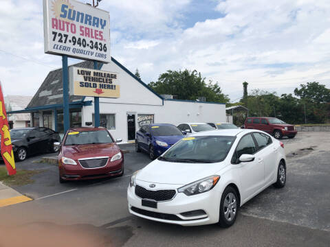 2015 Kia Forte for sale at Sunray Auto Sales Inc. in Holiday FL
