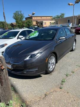 2016 Lincoln MKZ for sale at Contra Costa Auto Sales in Oakley CA