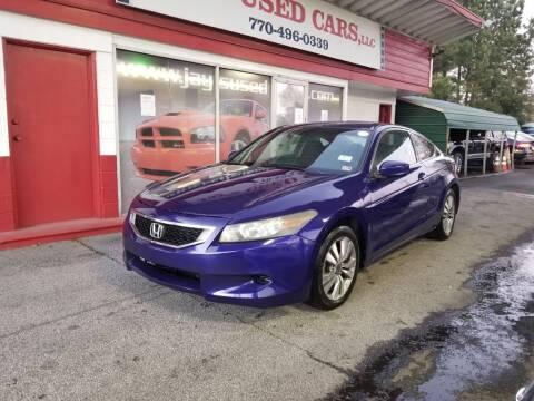 2008 Honda Accord for sale at Jays Used Car LLC in Tucker GA