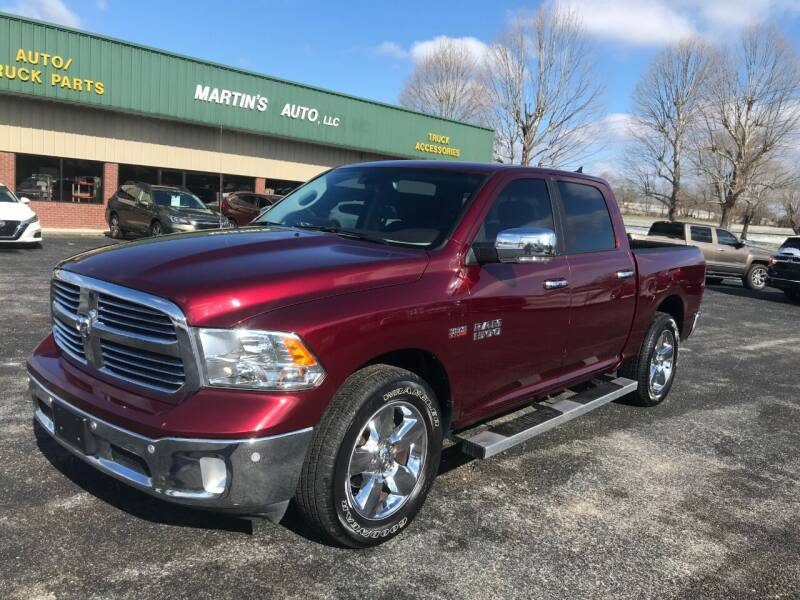 2018 RAM Ram Pickup 1500 for sale at Martin's Auto in London KY