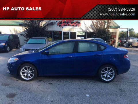 2013 Dodge Dart for sale at HP AUTO SALES in Berwick ME