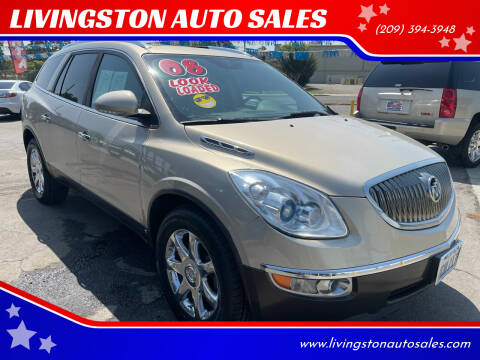 2008 Buick Enclave for sale at LIVINGSTON AUTO SALES in Livingston CA