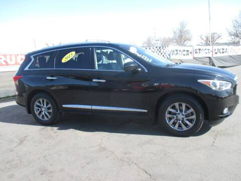 2015 Infiniti QX60 for sale at Quick Auto Sales in Modesto CA