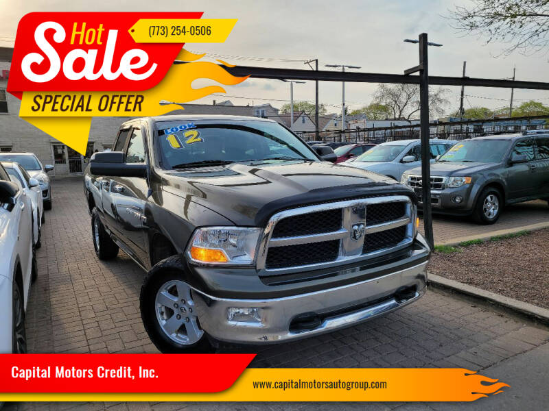 2012 RAM Ram Pickup 1500 for sale at Capital Motors Credit, Inc. in Chicago IL