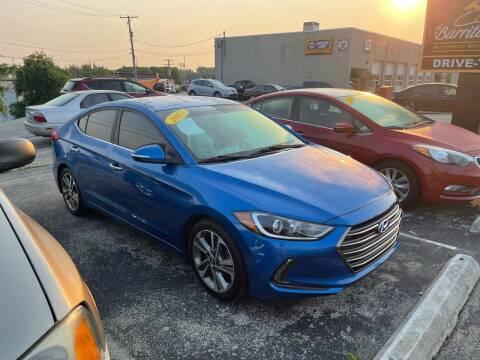 2017 Hyundai Elantra for sale at Cresthill Auto Sales Enterprises LTD in Crest Hill IL