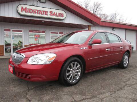 2009 Buick Lucerne for sale at Midstate Sales in Foley MN