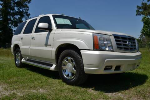 2006 Cadillac Escalade for sale at WOODLAKE MOTORS in Conroe TX