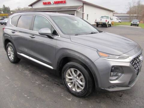 2019 Hyundai Santa Fe for sale at Thompson Motors LLC in Attica NY