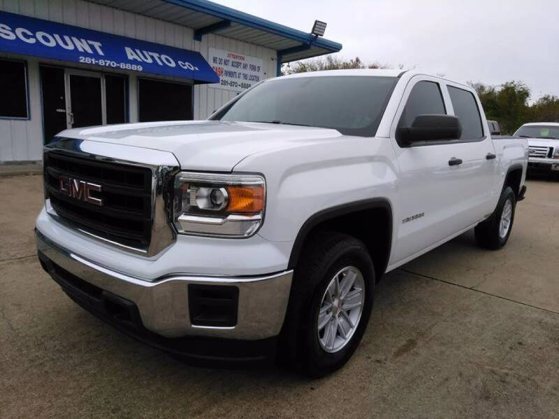 2014 GMC Sierra 1500 for sale at Discount Auto Company in Houston TX