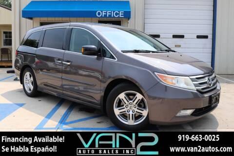2012 Honda Odyssey for sale at Van 2 Auto Sales Inc in Siler City NC