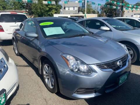 2012 Nissan Altima for sale at Park Avenue Auto Lot Inc in Linden NJ