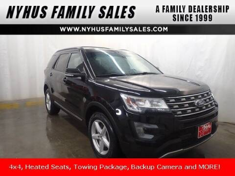 2016 Ford Explorer for sale at Nyhus Family Sales in Perham MN