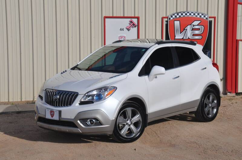 2013 Buick Encore for sale at V12 Auto Group in Lubbock TX