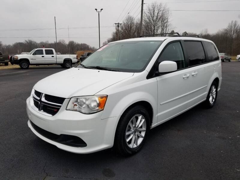 2014 Dodge Grand Caravan for sale at Ridgeway's Auto Sales in West Frankfort IL
