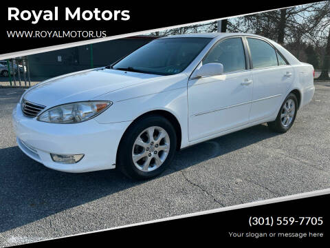 2006 Toyota Camry for sale at Royal Motors in Hyattsville MD