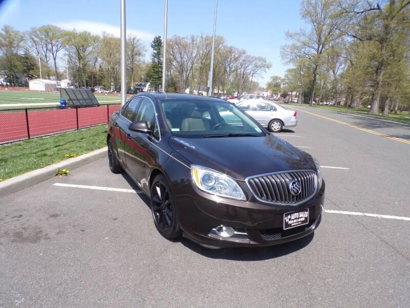 2016 Buick Verano for sale at TJS Auto Sales Inc in Roselle NJ