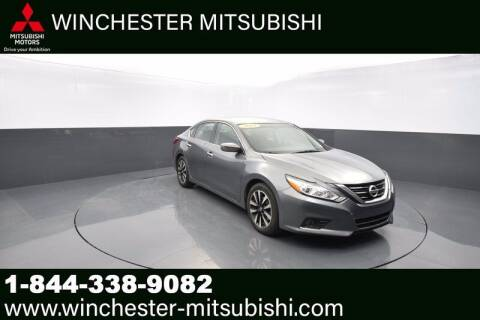 2018 Nissan Altima for sale at Winchester Mitsubishi in Winchester VA