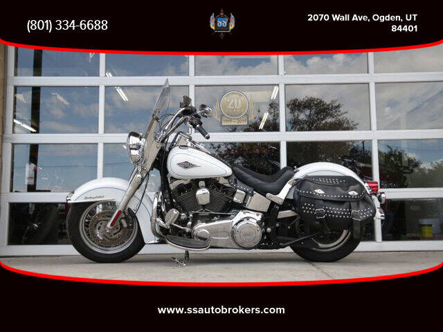 2012 Harley-Davidson FLSTC Heritage Softail Classic for sale at S S Auto Brokers in Ogden UT