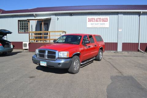2005 Dodge Dakota for sale at Dave's Auto Sales in Winthrop MN