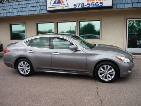 2011 Infiniti M37 for sale at Mountain View Motors Inc in Colorado Springs CO