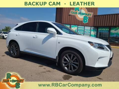 2015 Lexus RX 350 for sale at R & B Car Co in Warsaw IN
