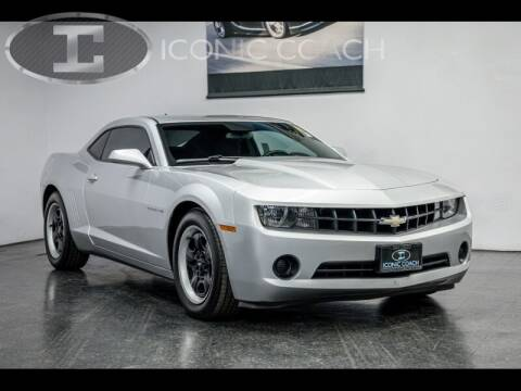 2013 Chevrolet Camaro for sale at Iconic Coach in San Diego CA