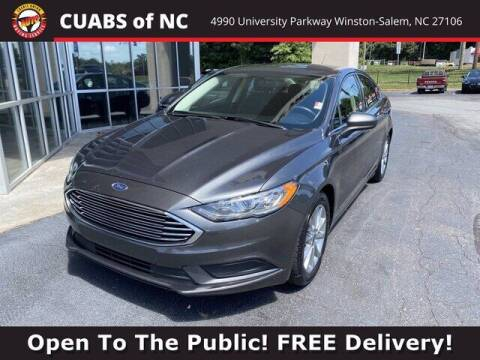 2017 Ford Fusion for sale at Credit Union Auto Buying Service in Winston Salem NC