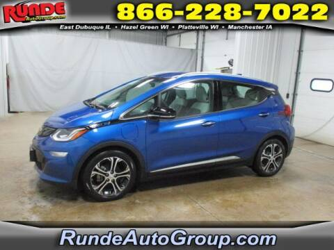 2019 Chevrolet Bolt EV for sale at Runde Chevrolet in East Dubuque IL