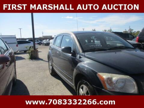 2008 Dodge Caliber for sale at First Marshall Auto Auction in Harvey IL