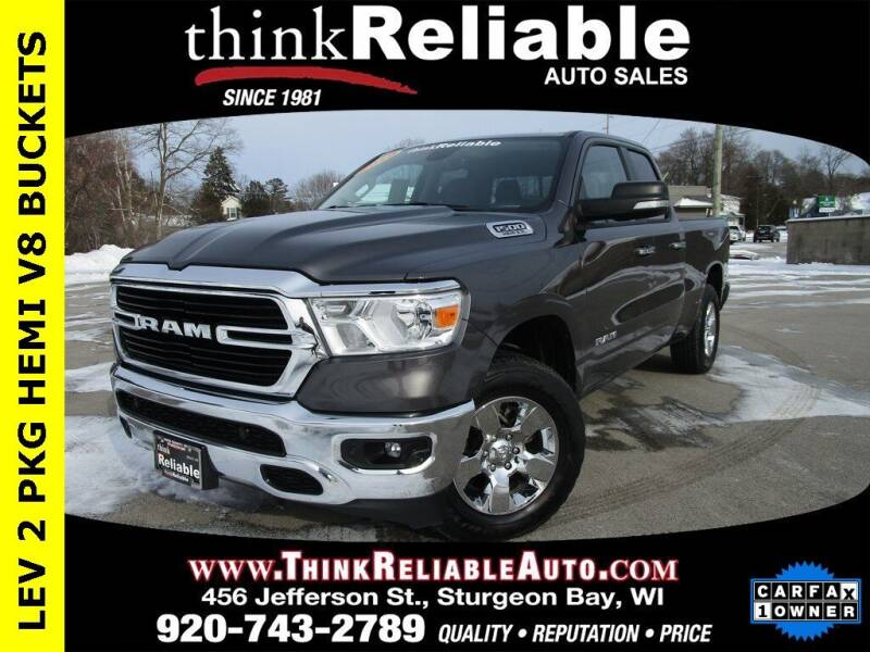 2020 RAM Ram Pickup 1500 for sale at RELIABLE AUTOMOBILE SALES, INC in Sturgeon Bay WI