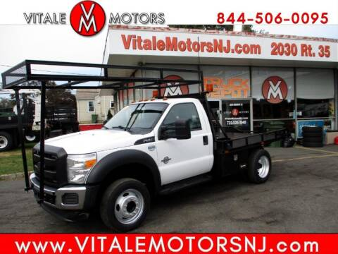 2014 Ford F-550 Super Duty for sale at Vitale Motors in South Amboy NJ