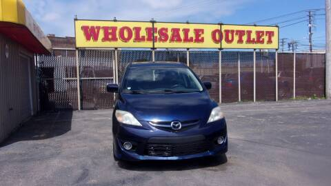 2008 Mazda MAZDA5 for sale at LONG BROTHERS CAR COMPANY in Cleveland OH
