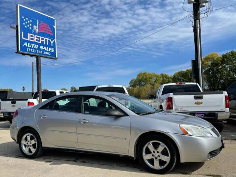 2007 Pontiac G6 for sale at Liberty Auto Sales in Merrill IA