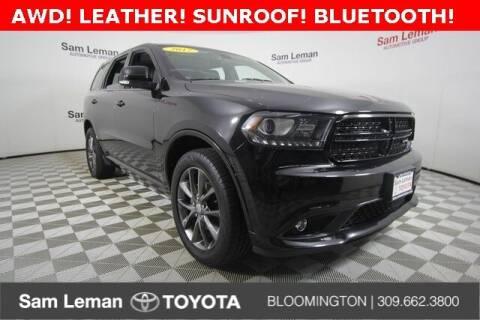 2017 Dodge Durango for sale at Sam Leman Toyota Bloomington in Bloomington IL