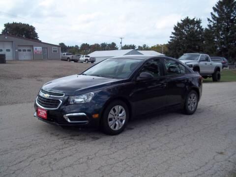 2015 Chevrolet Cruze for sale at SHULLSBURG AUTO in Shullsburg WI