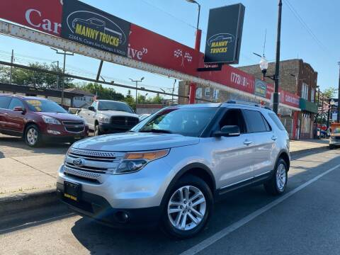 2014 Ford Explorer for sale at Manny Trucks in Chicago IL