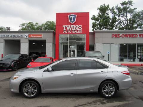 2015 Toyota Camry for sale at Twins Auto Sales Inc in Detroit MI