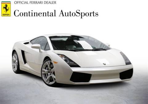 2008 Lamborghini Gallardo for sale at CONTINENTAL AUTO SPORTS in Hinsdale IL