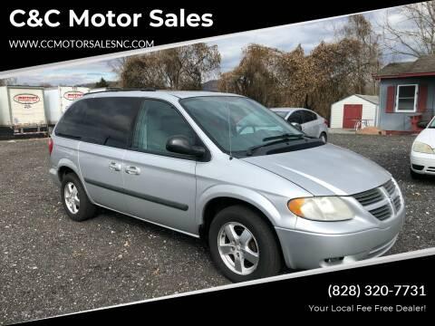 2005 Dodge Caravan for sale at C&C Motor Sales LLC in Hudson NC