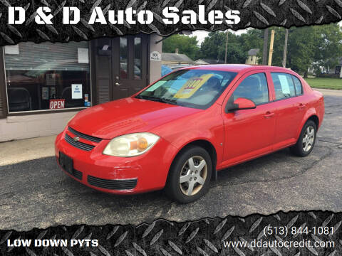 2007 Chevrolet Cobalt for sale at D & D Auto Sales in Hamilton OH
