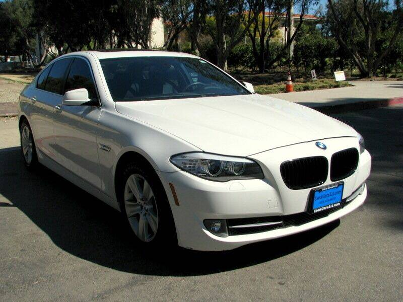 2013 BMW 5 Series for sale at Used Cars Los Angeles in Los Angeles CA
