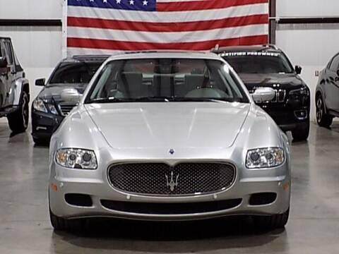 2008 Maserati Quattroporte for sale at Texas Motor Sport in Houston TX